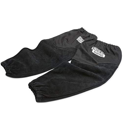 Lincoln Electric Welding Sleeves | Split Leather & Flame Resistant (FR)...