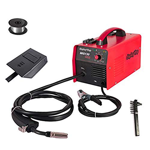 Display4top Portable No Gas MIG 130 Plus Welder Flux Core Wire Automatic...