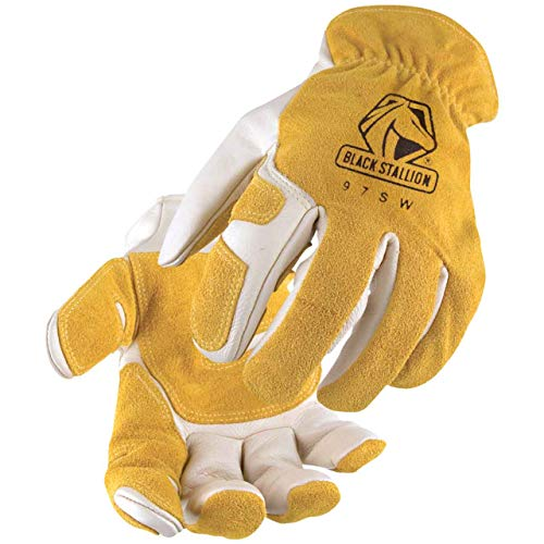Revco Black Stallion 97SW Mens/Womens Leather Work/Drivers Gloves With...