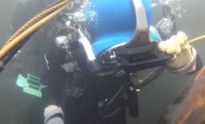 what tools are used for underwater welding